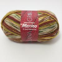 Lana Grossa Meilenweit Merino 6 fach Farbe 9057