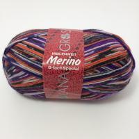Lana Grossa Meilenweit Merino 6 fach Farbe 9106