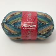 Lana Grossa Meilenweit Merino 6 fach Farbe 9303