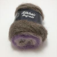 Lana Grossa Silkhair Degradé Farbe 809